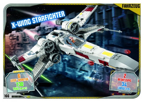 Nummer 166 | X-Wing Starfighter