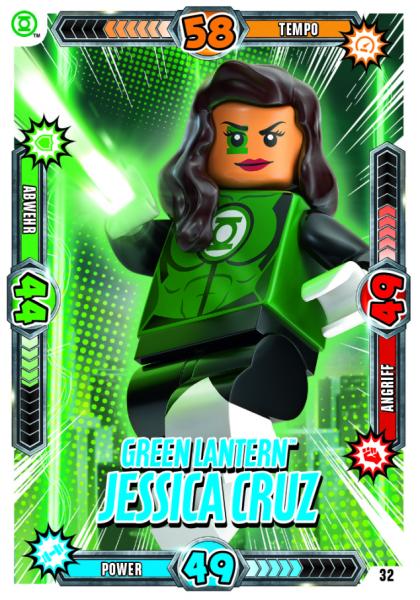 Nummer 32 | Green Lantern Jessica Cruz