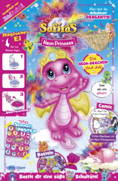 """Safiras """"Neon Princess"""" 01/2019"""