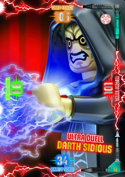 Nummer 14 | Ultra Duell Darth Sidious