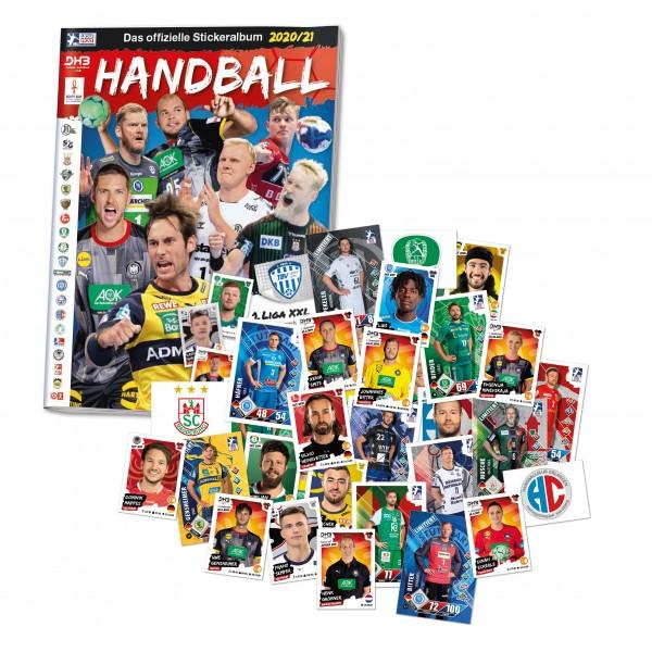 Handball 2020/21 Full-Set Sammelkarten/Sammelsticker