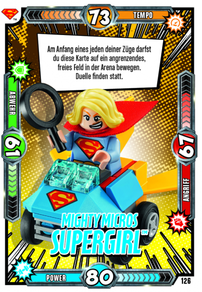 Nummer 126 | Mighty Micros Supergirl