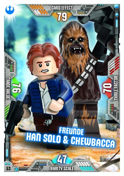 Nummer 53 | Freunde Han Solo & Chewbacca