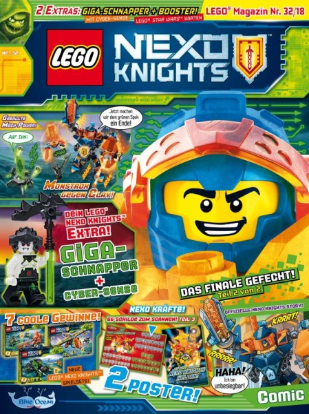 LEGO NEXO Knights 32/2018