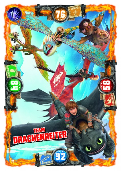 Nummer 071 I Team Drachenreiter