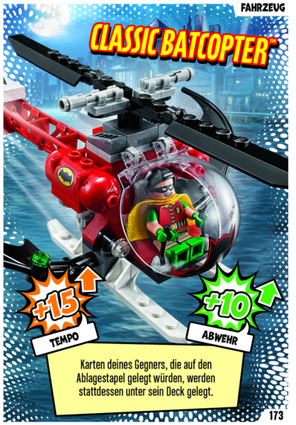 Nummer 173   Classic Batcopter