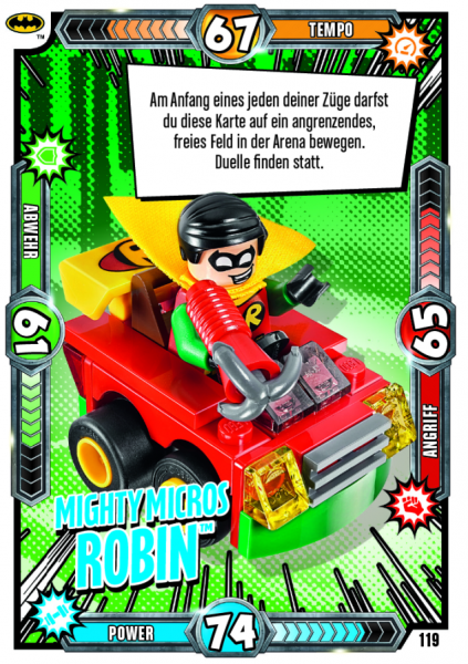 Nummer 119 | Mighty Micros Robin