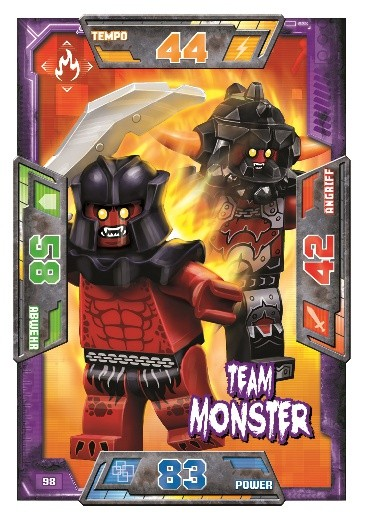 Nummer 98 | Team Monster