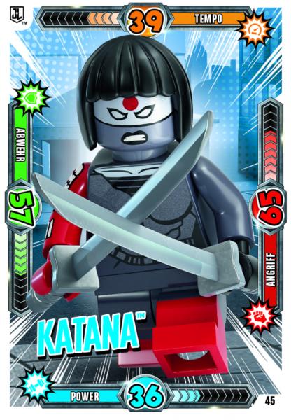 Nummer 45| Katana