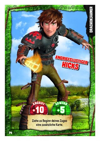 Nummer 074 I Angriffslustiger Hicks