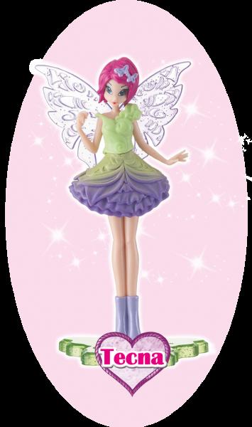 Winx Club Sammelfigur Magic Girl Tecna!