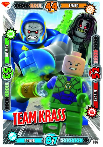 Nummer 106 | Team Krass