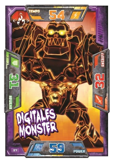 Nummer 87 | Digitales Monster