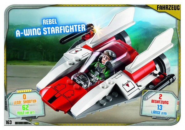 Nummer 163 | Rebel A-Wing Starfighter