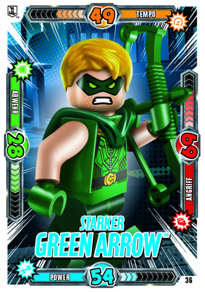 Nummer 36 | Starker Green Arrow