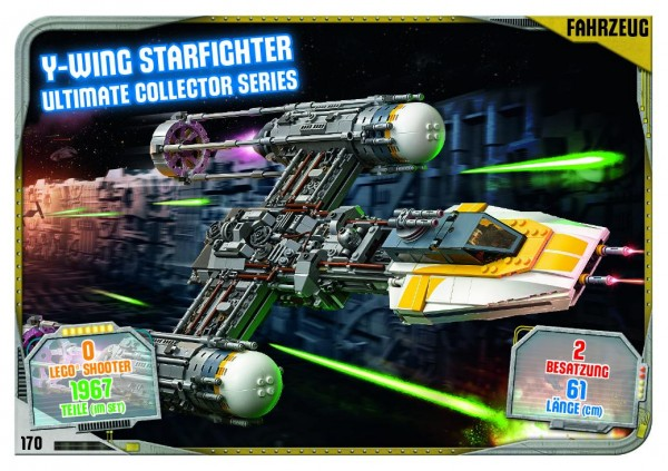 Nummer 170 | Y-Wing Starfighter Ultimate Collector Series