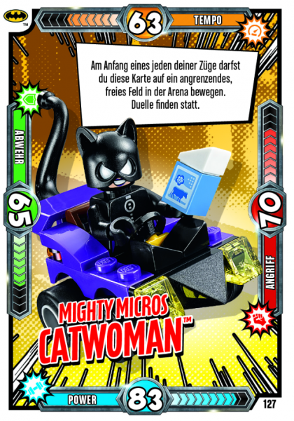 Nummer 127   Mighty Micros Catwoman