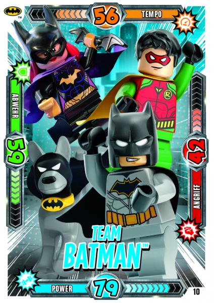 Nummer 10 | Team Batman