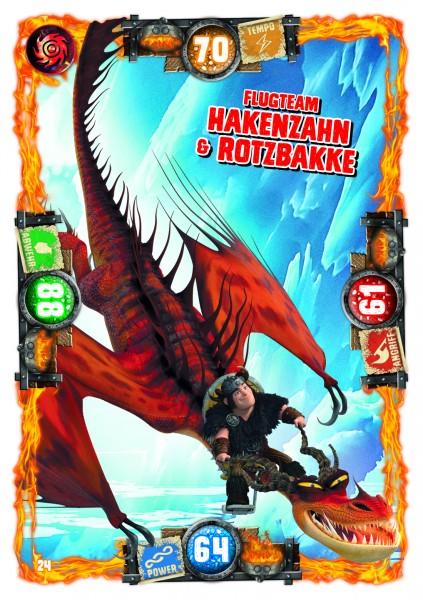 Nummer 024 I Flugteam Hakenzahn & Rotzbakke