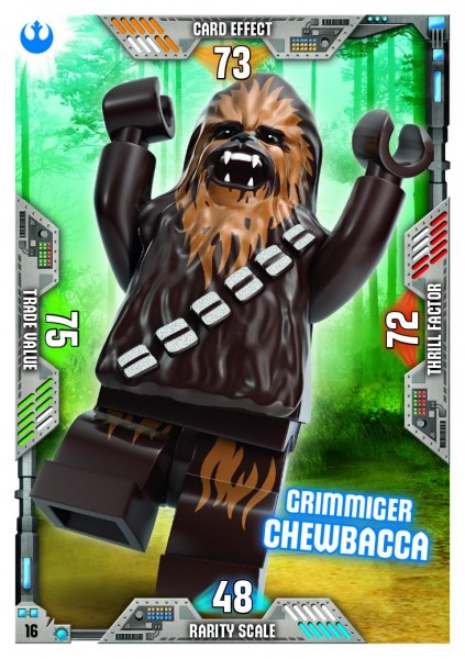 Nummer 16 | Grimmiger Chewbacca