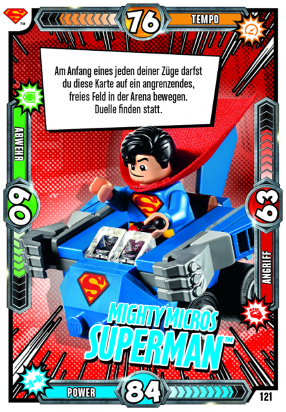 Nummer 121 | Mighty Micros Superman