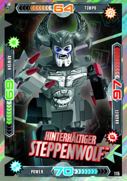 Nummer 115   Hinterhältiger Steppenwolf