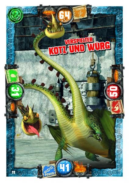 Nummer 011 I Verspielter Kotz und Würg