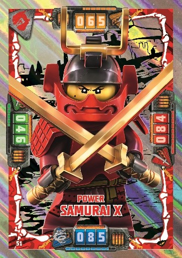 Nummer 51 | Power Samurai X