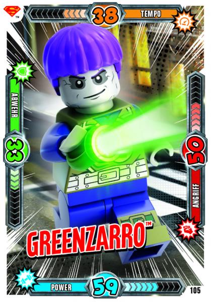 Nummer 105 | Greenzarro