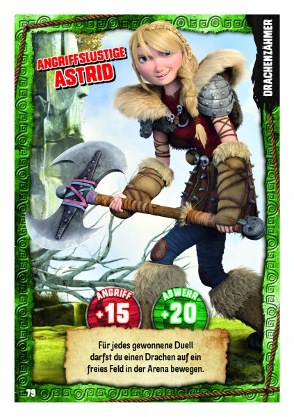 Nummer 079 I Angriffslustige Astrid