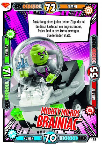 Nummer 135   Mighty Micros Brainiac