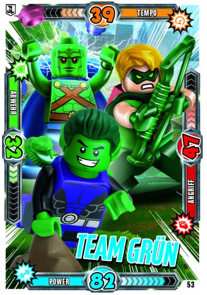 Nummer 53 | Team Grün