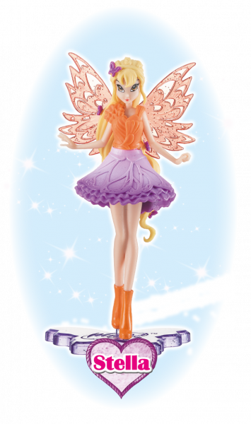Winx Club Sammelfigur Magic Girl Stella!