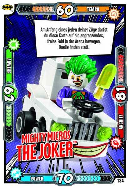 Nummer 134 | Mighty Micros The Joker