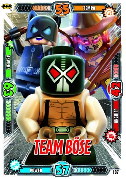 Nummer 107 | Team Böse