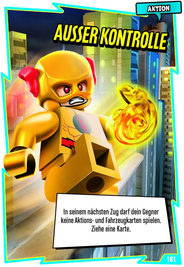 53 LEGO Batman Movie Karten Nr Team Grün