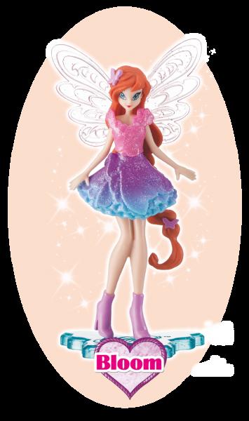 Winx Club Sammelfigur Magic Girl Bloom!