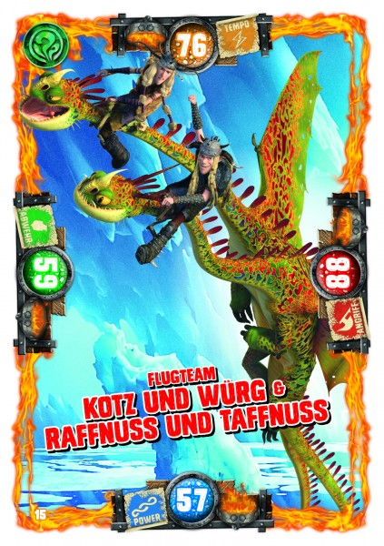 Nummer 015 I Flugteam Kotz und Würg & Raffnuss und Taffnuss