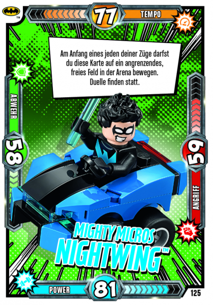 Nummer 125 | Mighty Micros Nightwing