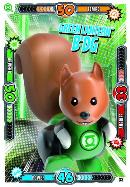 Nummer 33 | Green Lantern B'dg