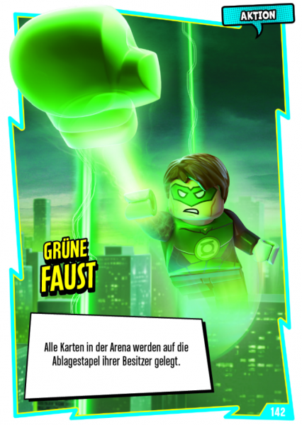Nummer 142 | Grüne Faust