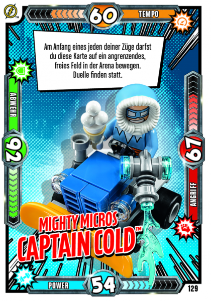 Nummer 129 |Mighty Micros Captin Cold