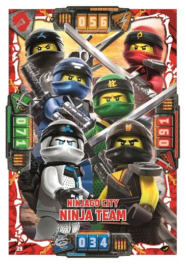 Nummer 39 | Ninjago City Ninja Team
