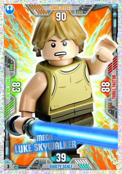 Nummer 03 | Mega Luke Skywalker