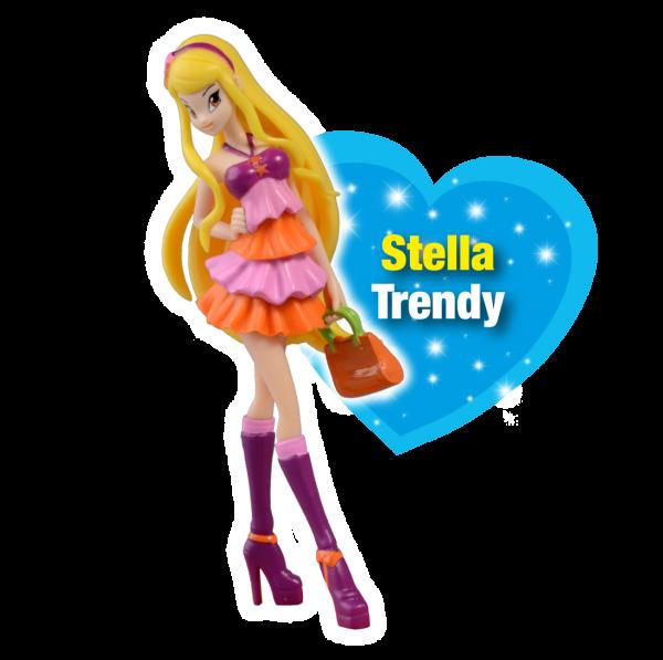 Winx Club XXL-Sammelfigur Trendy Stella