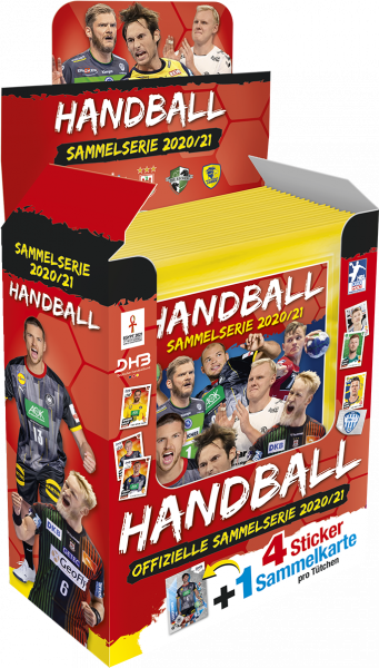 Handball 2020/21 Sammelserie Display