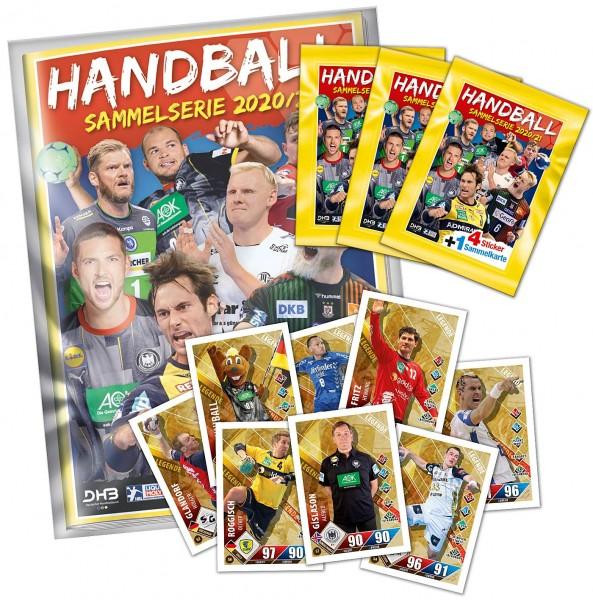Handball 2020/21 Sammelkarten Starter-Pack