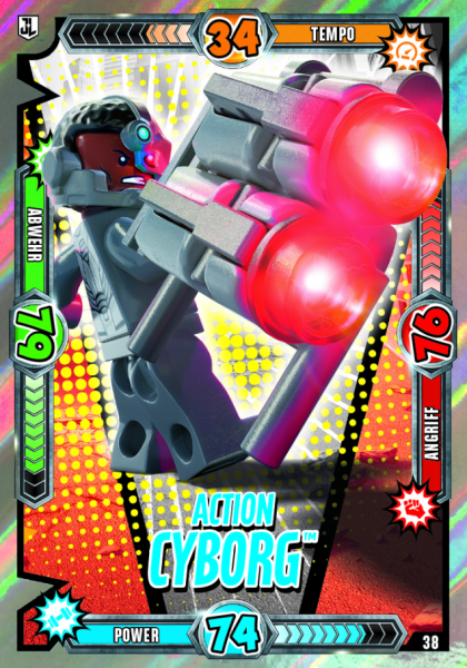 Nummer 38   Action Cyborg