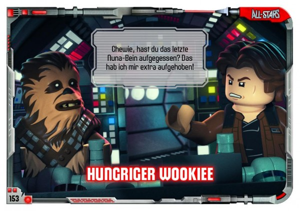 Nummer 153 | Hungriger Wookiee