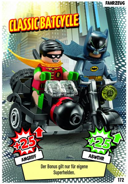 Nummer 172 |Classic Batcycle